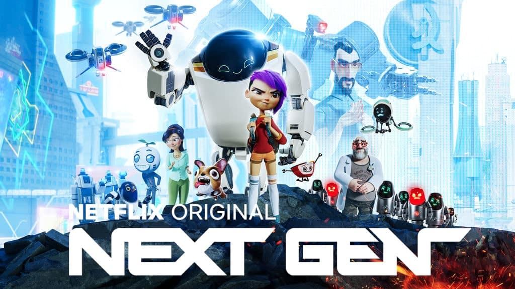 La Nueva Generación, una película de robots de Netflix