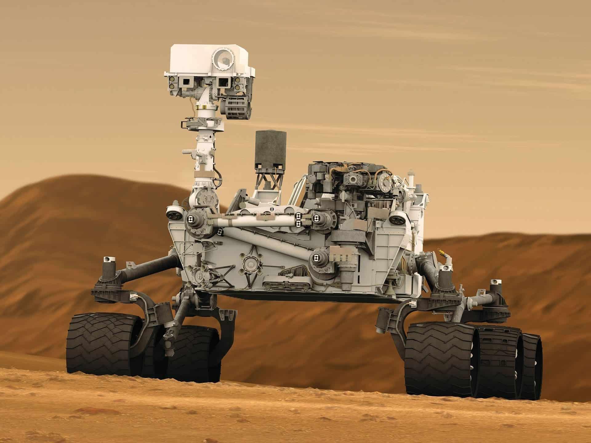 curiosity robot