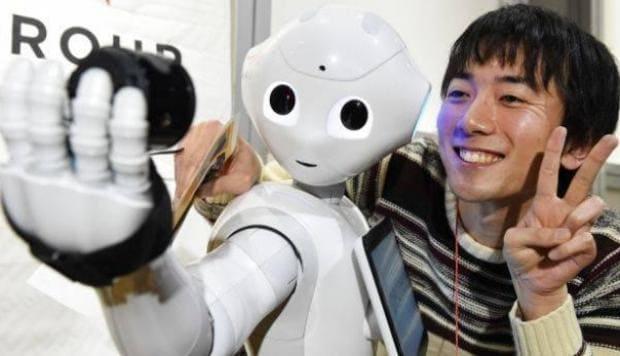 robots en japon