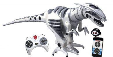 juguete de robot dinosaurio